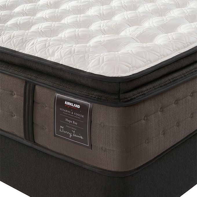 Sterns And Foster >> Kirkland Signature By Stearns And Foster Hope Bay King Mattress With Foundation