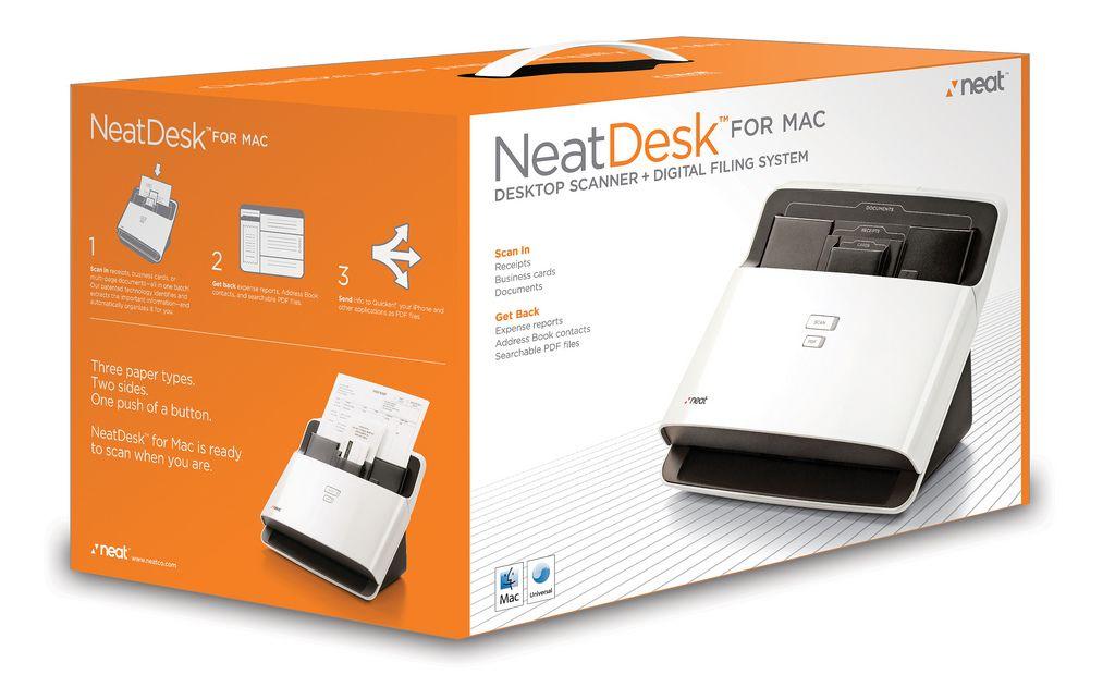 neat receipts desktop scanner for mac