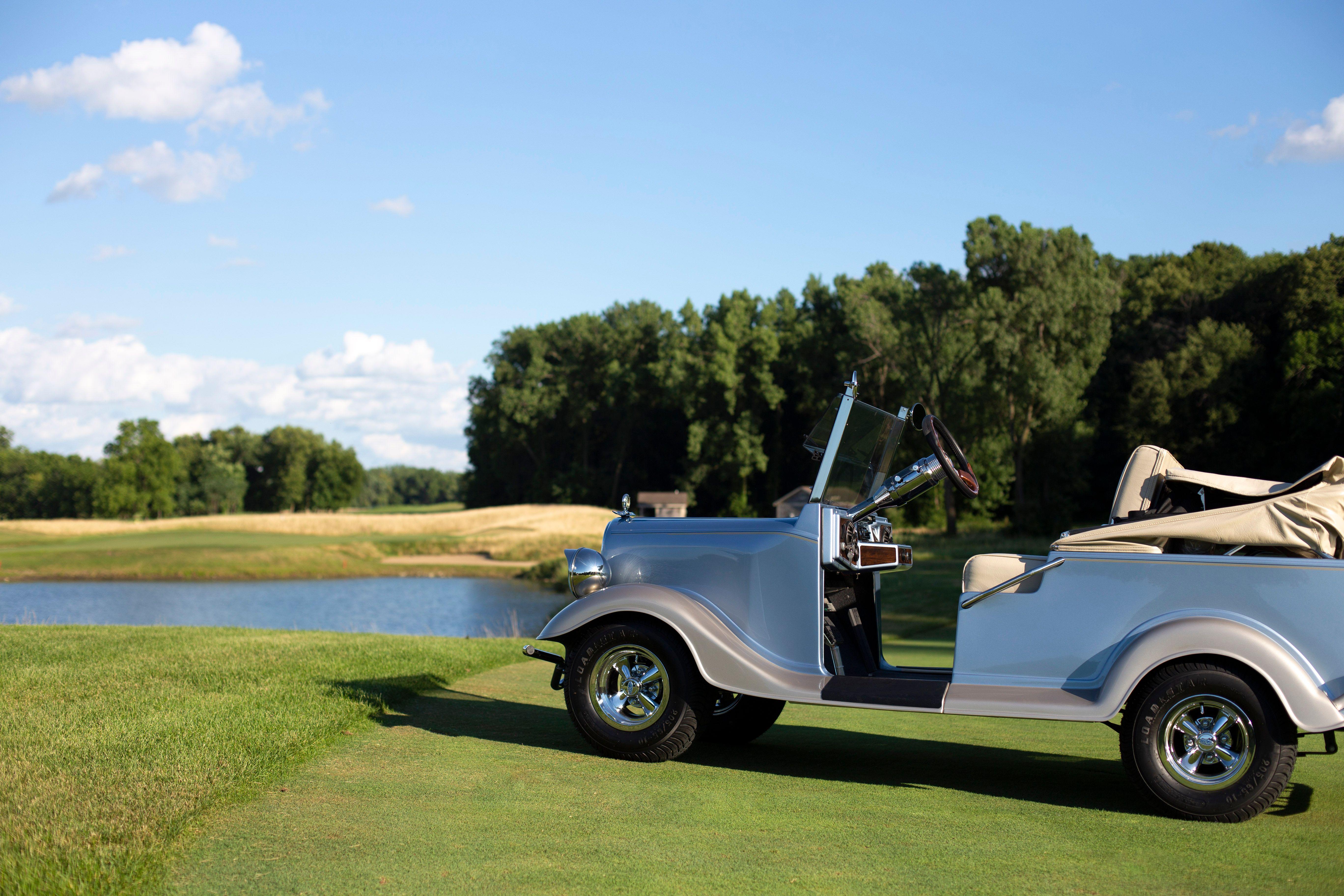 Streetrod Vintage Convertible 2-4 Passenger Electric Golf Cart