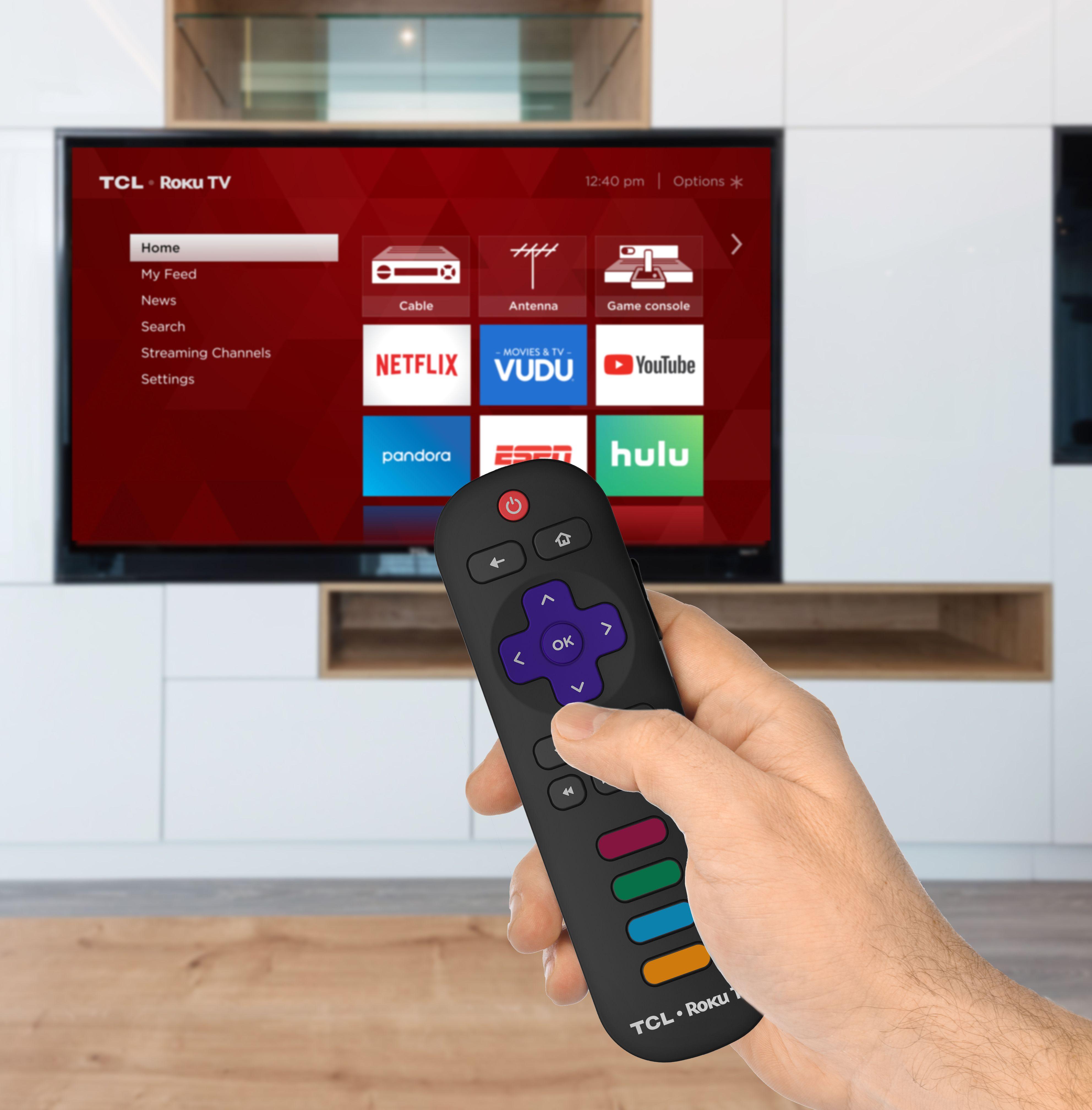 "TCL 55"" Class 4K (2160P) HDR Roku Smart LED TV (55S401"