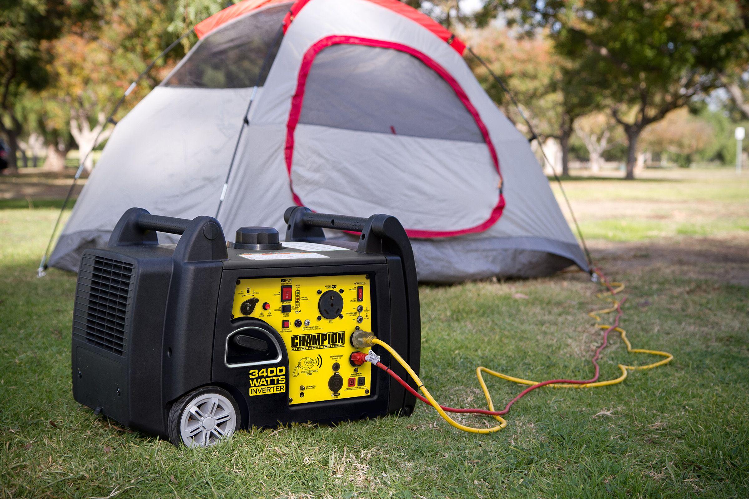 Champion Power Equipment 3400-Watt Asynchronous AC Gasoline