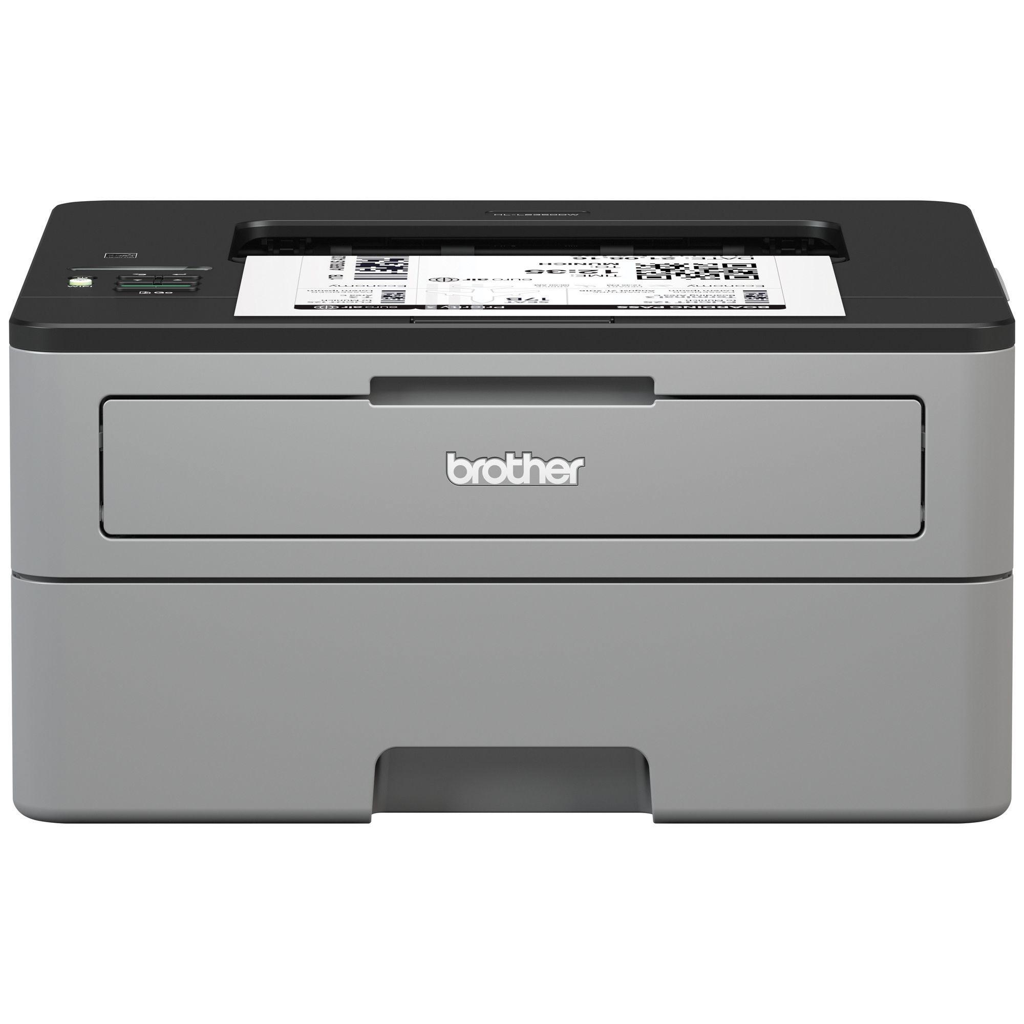Brother Hl L2350dw Monochrome Laser Printer Walmartcom