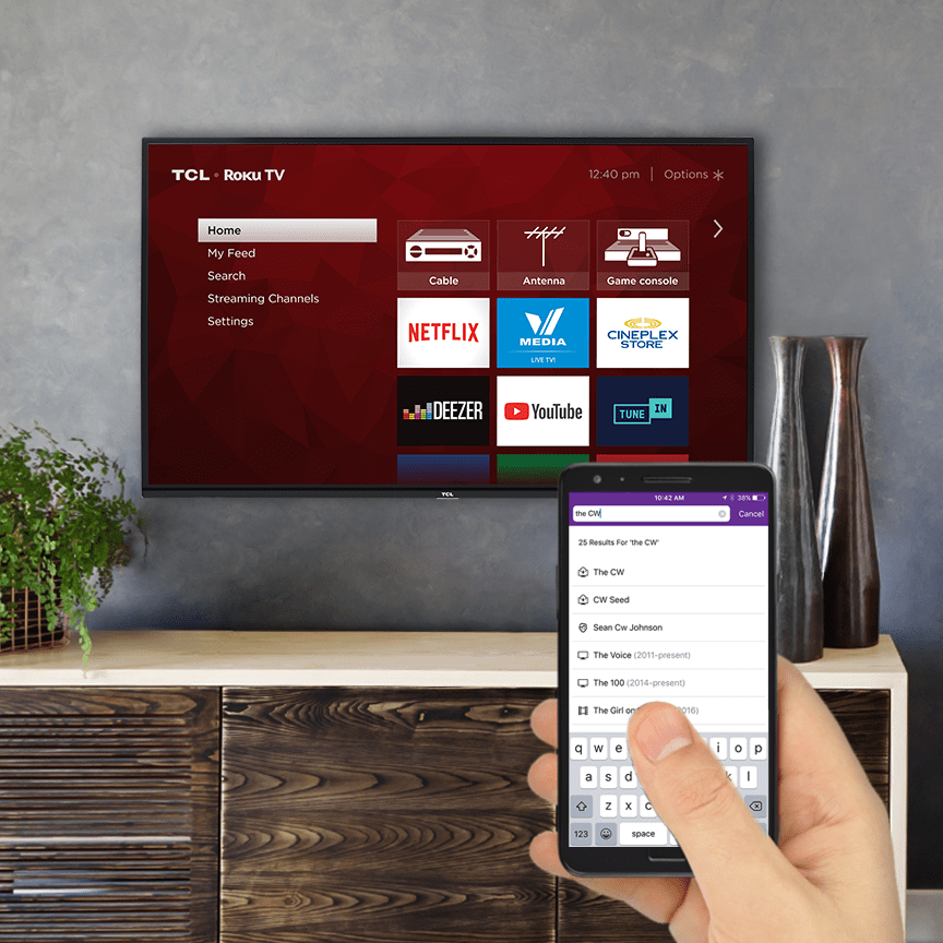 TCL 50-in  4K HDR Roku Smart TV 50S423CA