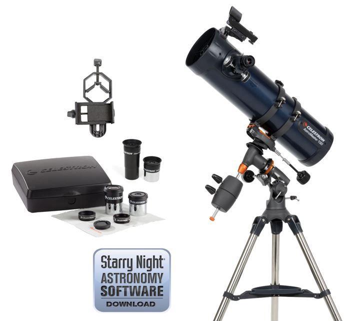 Celestron AstroMaster 130EQ with Eyepiece Kit