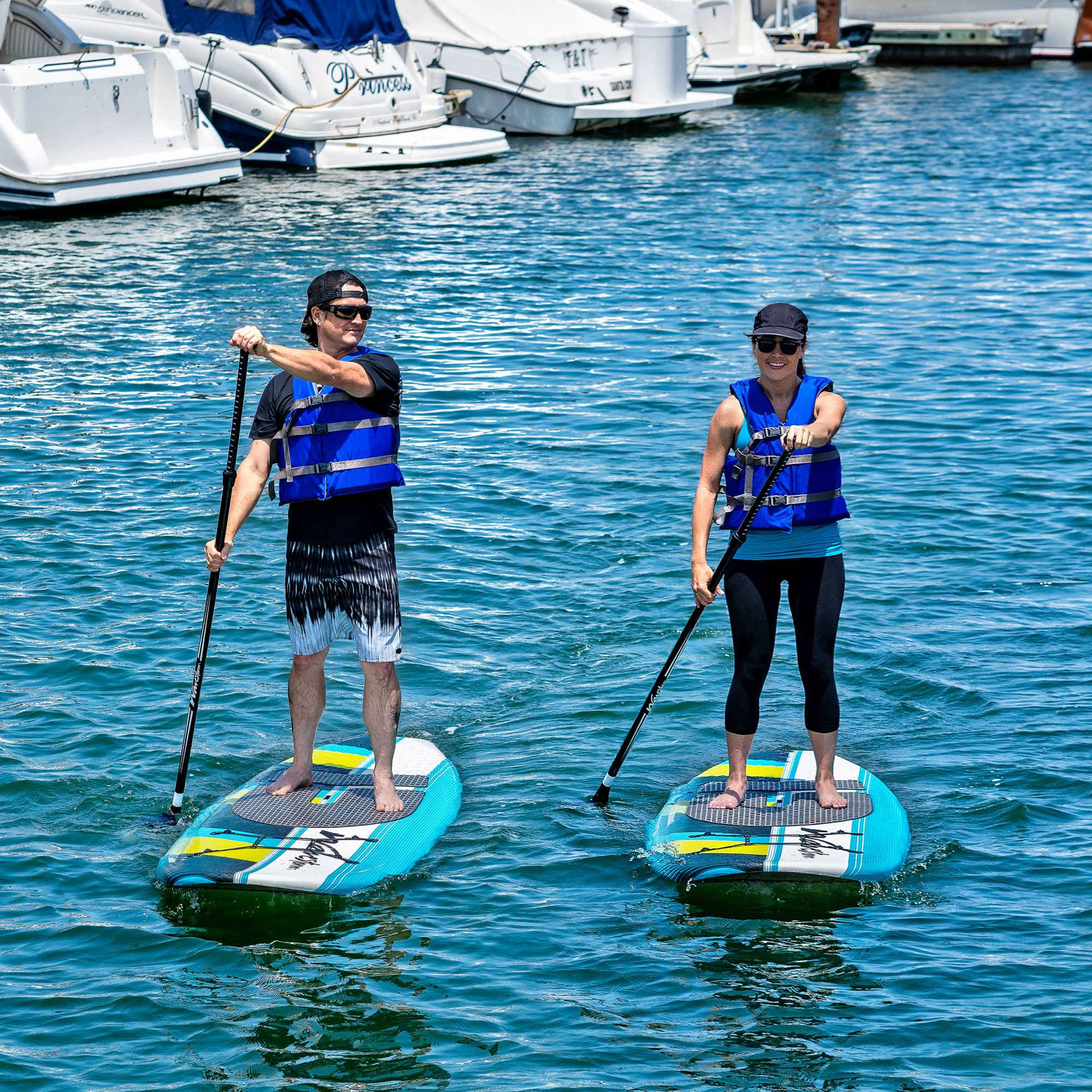 Wavestorm 9ft 6in Sup Expedition 2 Pack Stand Up Paddle