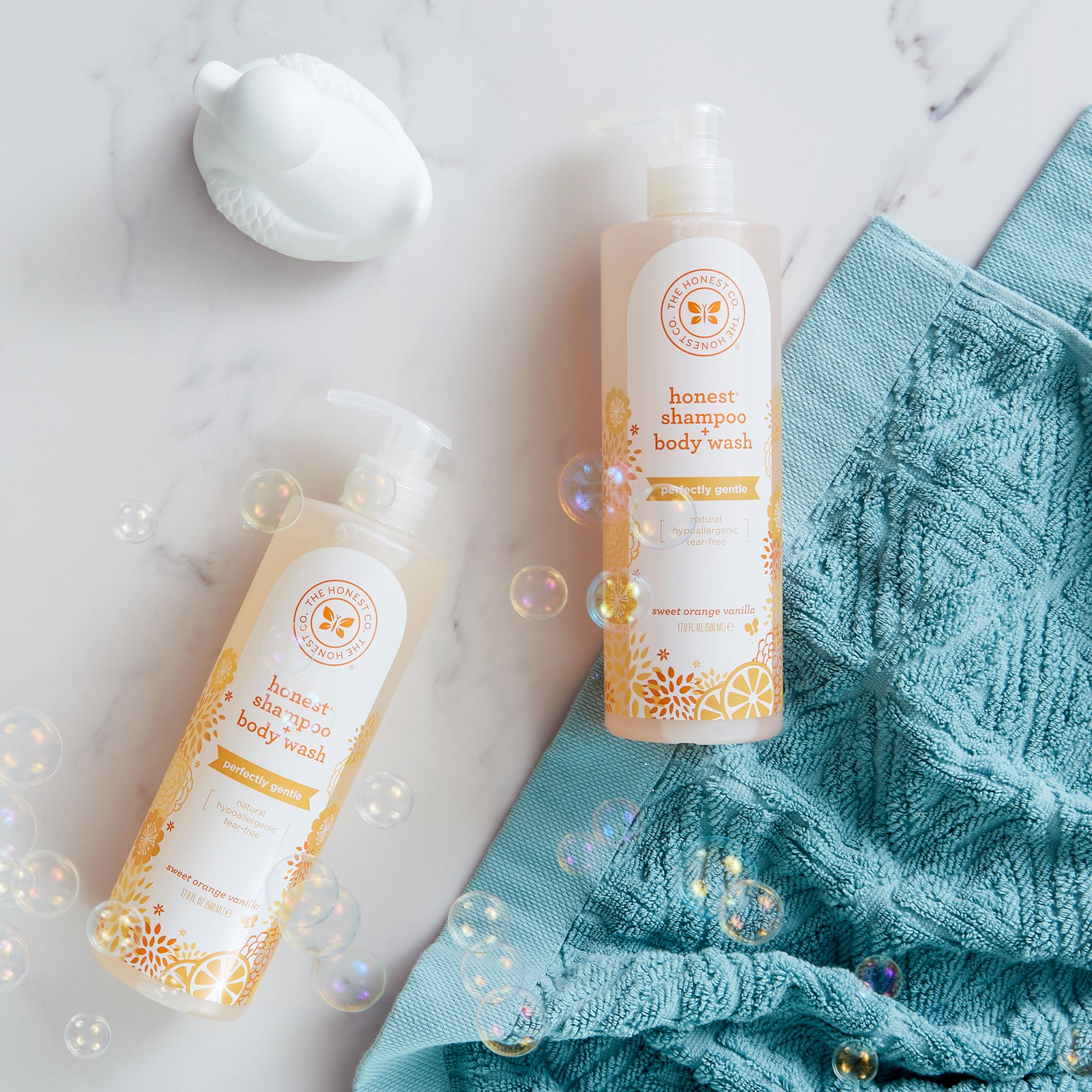 82bfed84def The Honest Company Shampoo and Body Wash. Our gentle and mild 2-in-1  cleanser is designed to cleanse the entire body from head to toe.