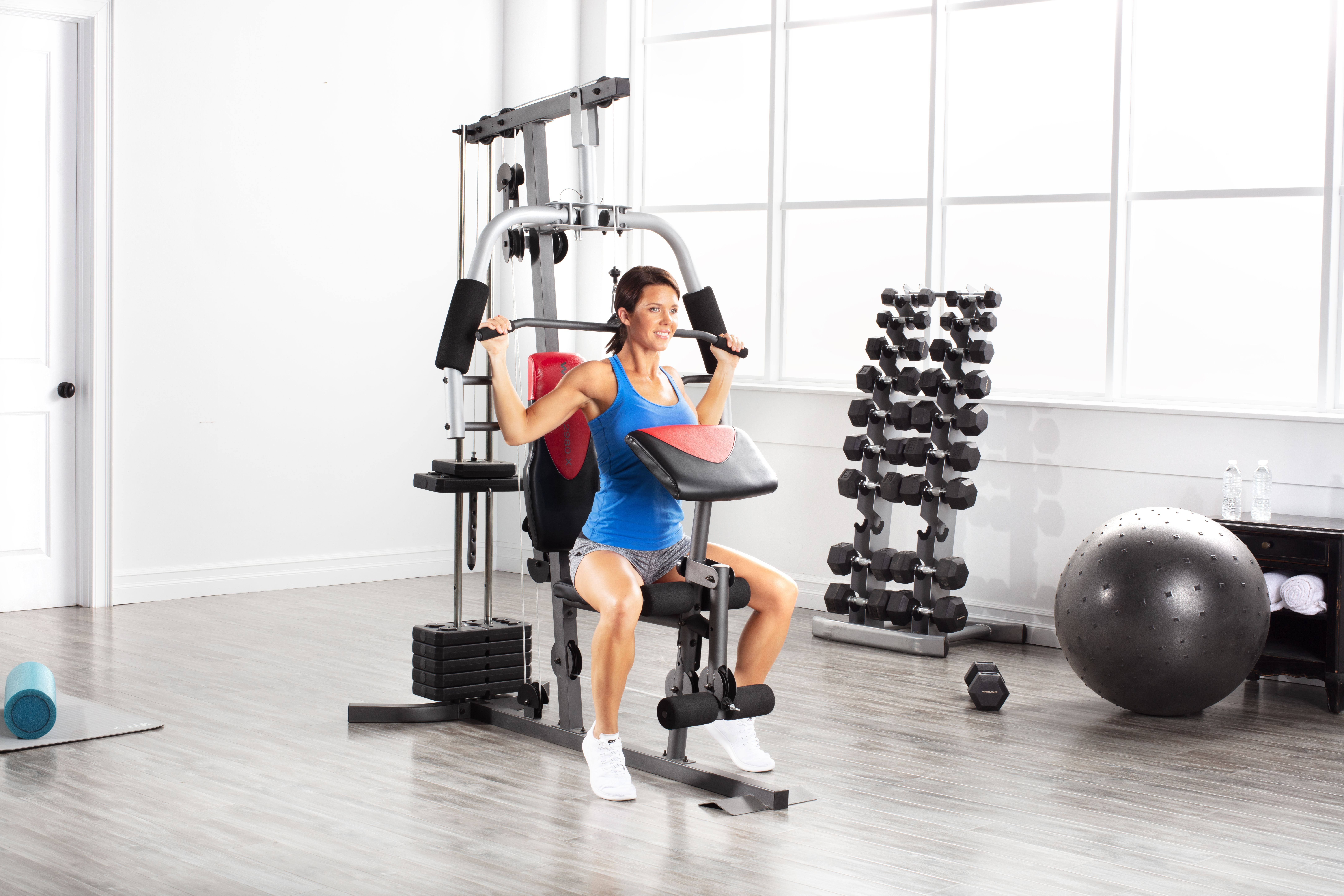 Weider home gym with lbs of resistance walmart