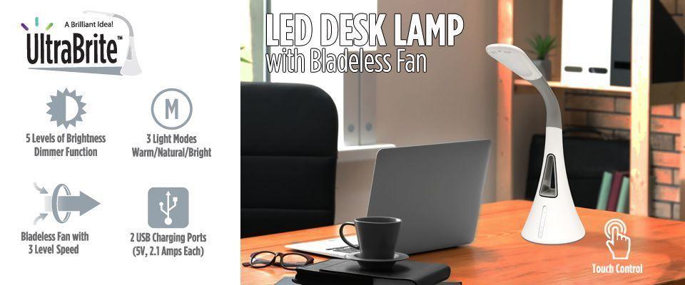 Creative LED Light Fan Handheld Portable USB Fan Child Cooling Tool Intelligent Voice Console Light Home Desktop Decoration GOLDEN2STAR