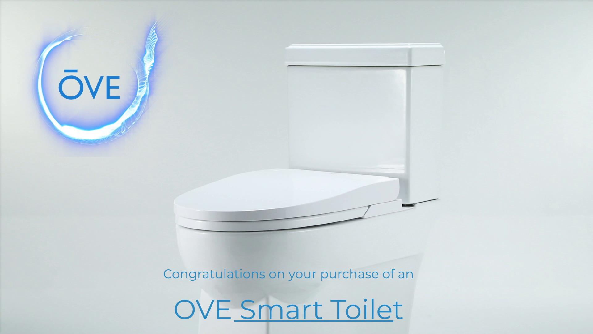 Ove Decors Irenne Classic Smart Bidet Toilet