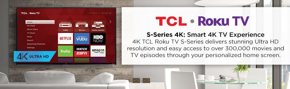 Refurbished TCL Roku 55