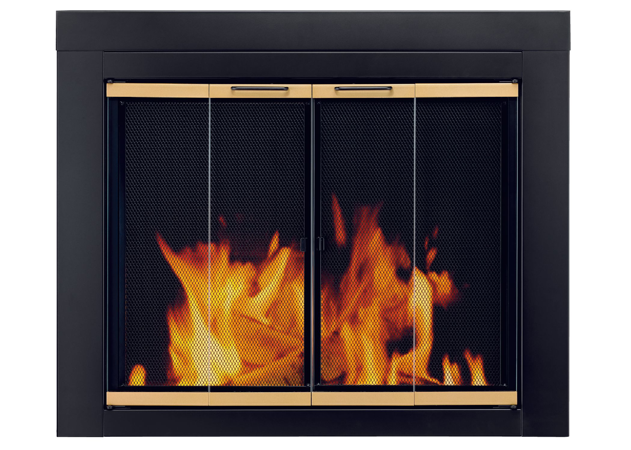 Pleasant Hearth Arrington Black With