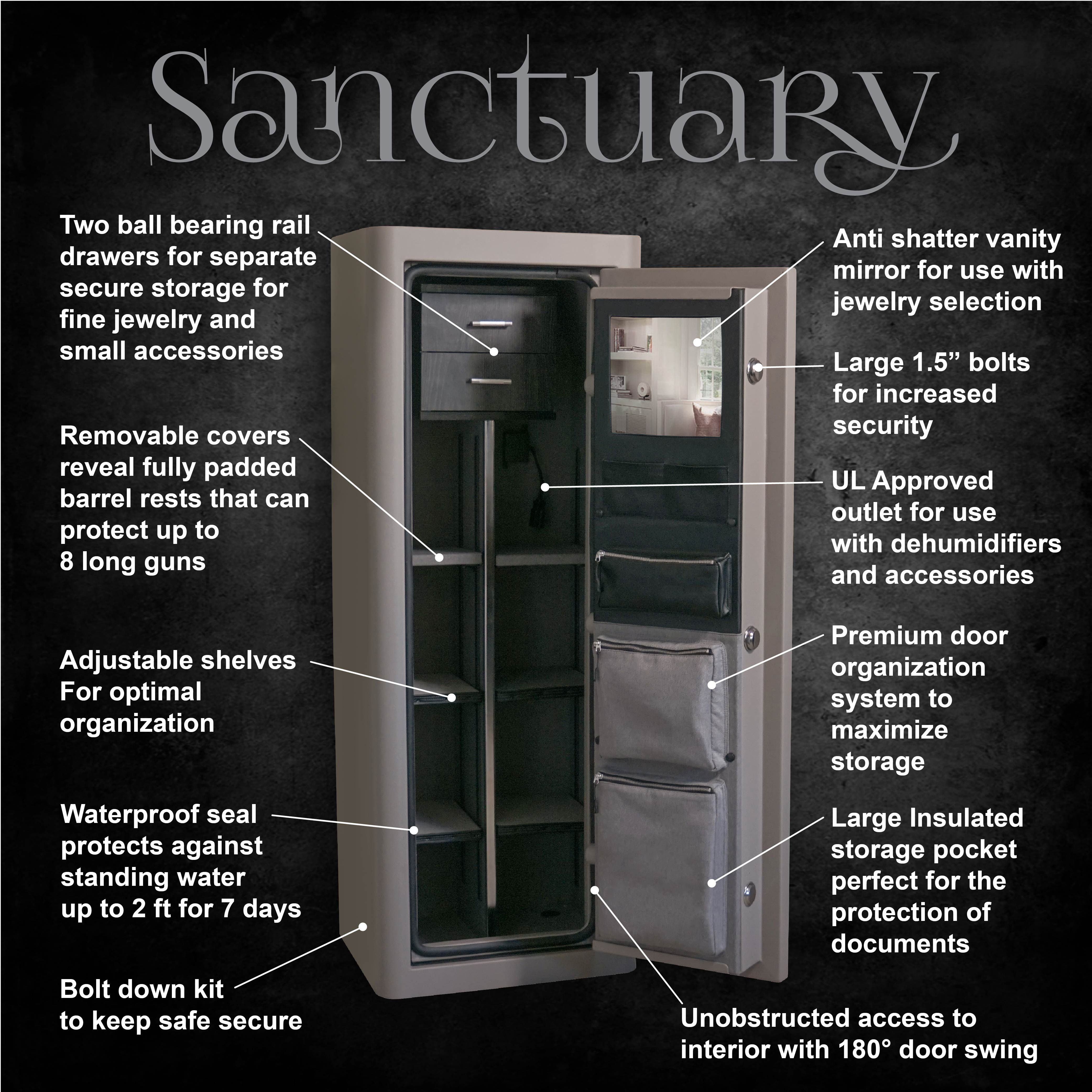 Sports Afield Sanctuary Executive Vault 10 82CUFT