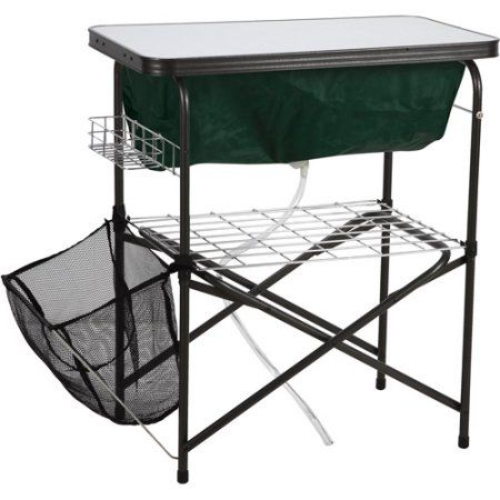 Ozark trail easy clean up camp sink for outdoor use walmart workwithnaturefo