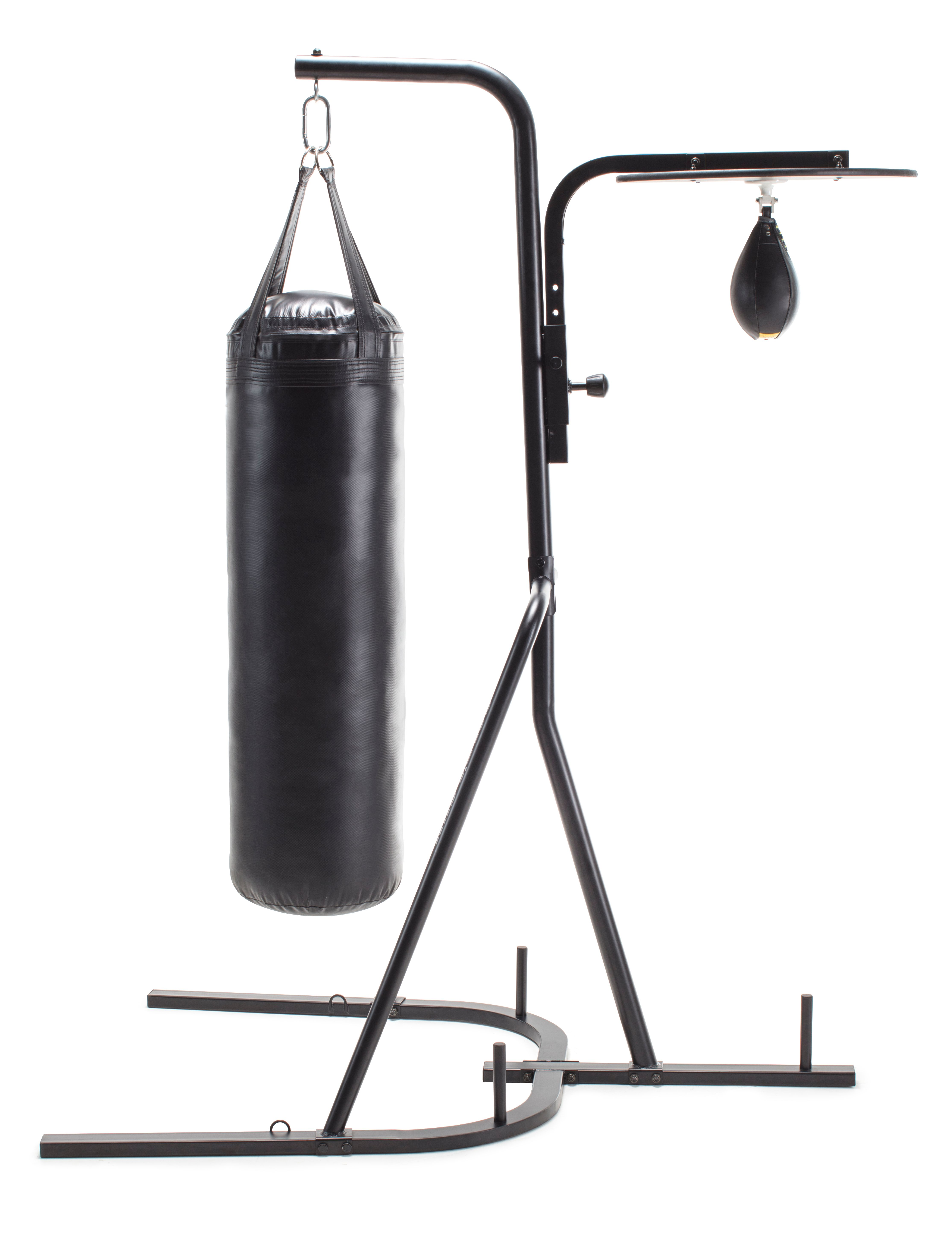 Punching Bag Filled Wall Bracket Boxing Training MMA Heavy Punch Gloves 14PC