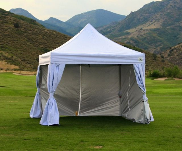 UnderCover 10' x 10' Instant Canopy with Side Walls