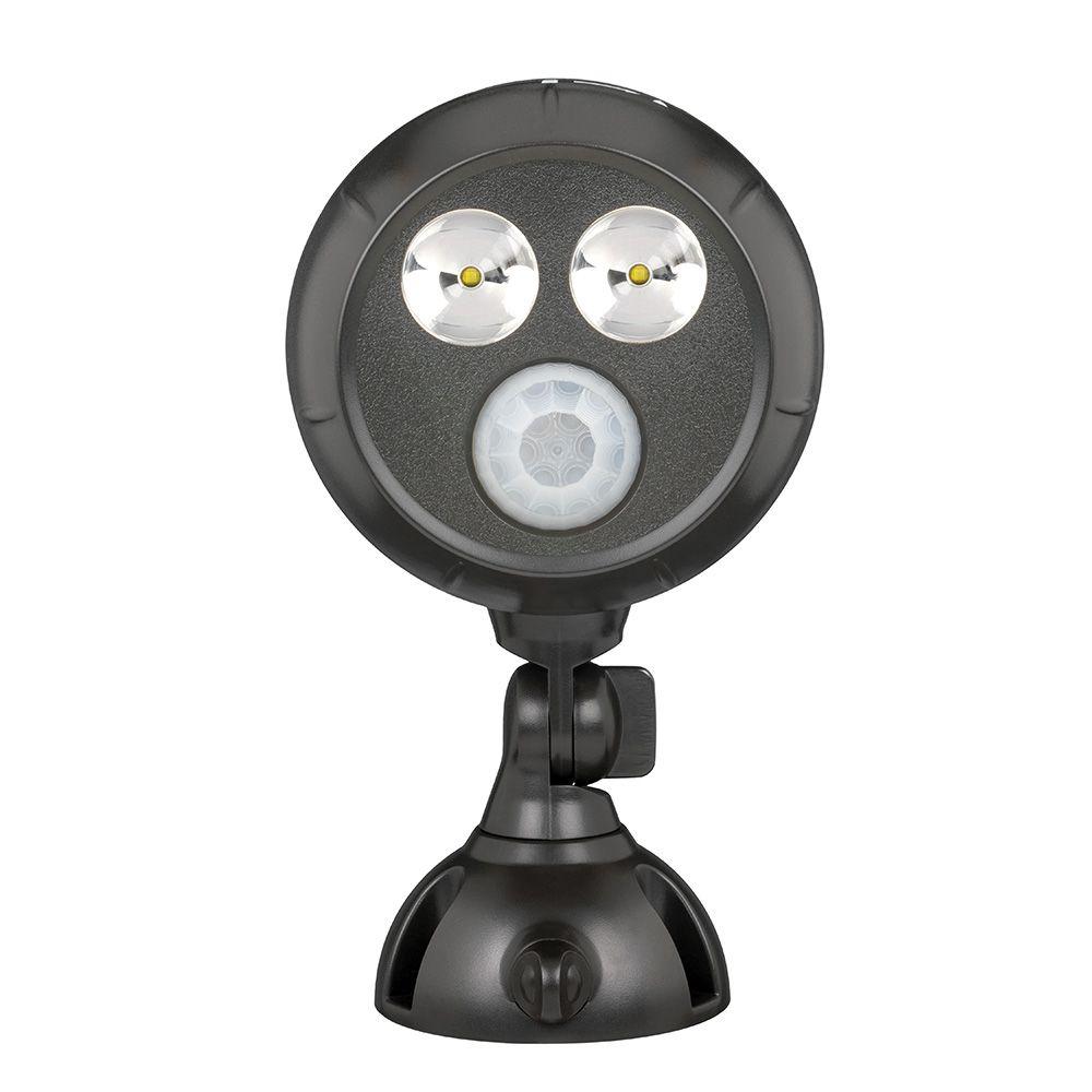 Mr Beams Battery Powered Spot Lights 2 Pack Wiring Up A Emergency Light 400 Lumen Ultrabright Spotlight